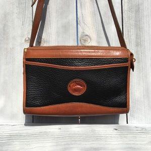 VTG Dooney & Bourke Leather Crossbody Bag, M
